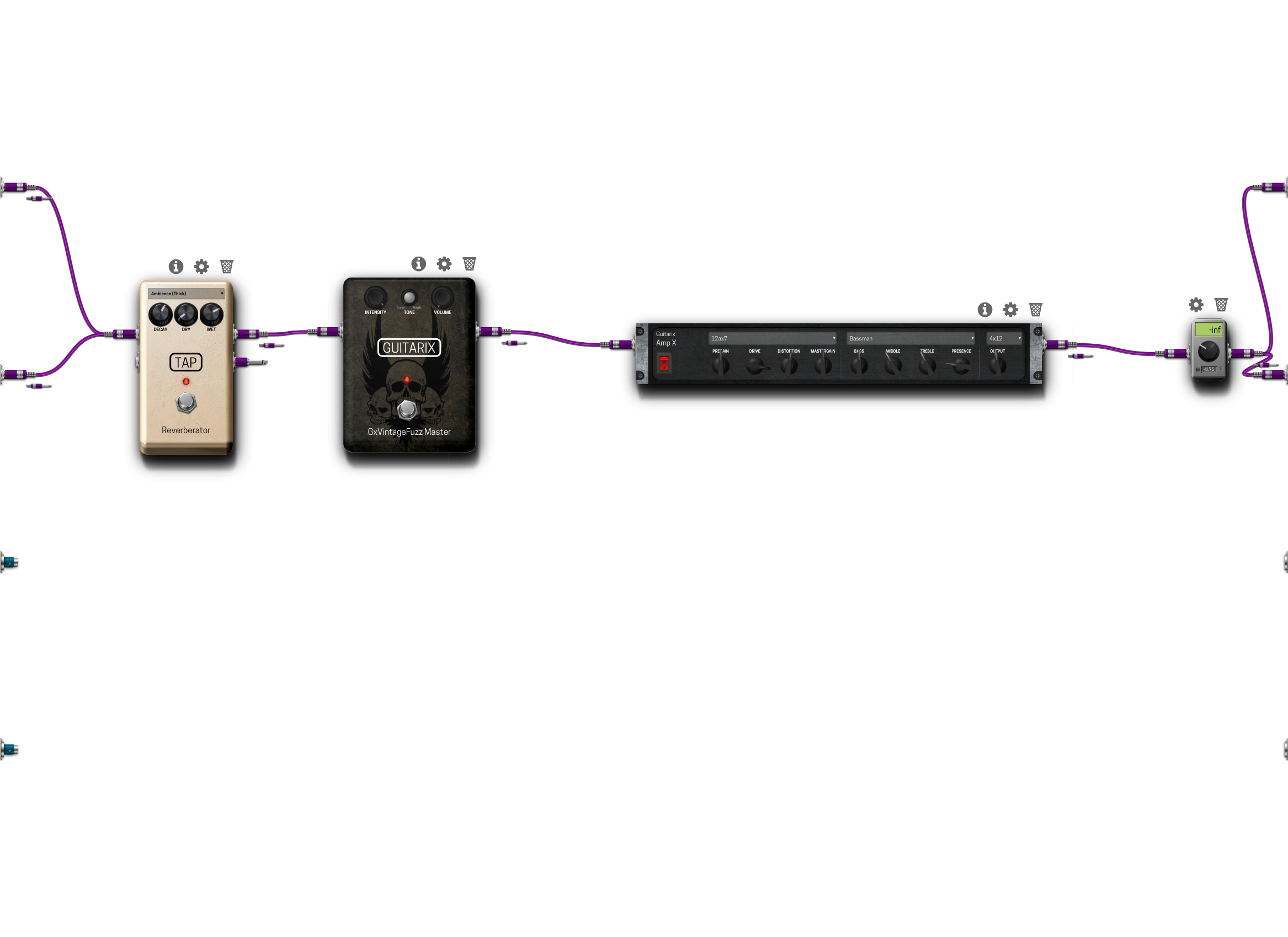 Pedalboard screenshot
